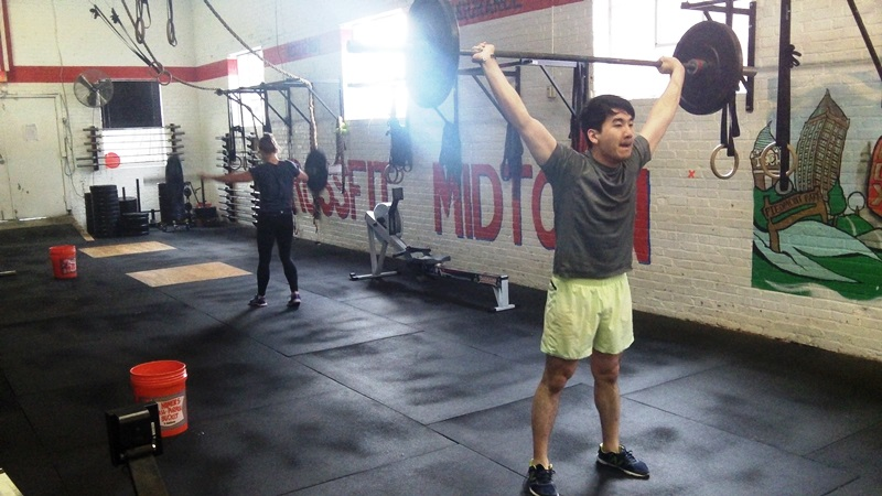 Danny makes his return on snatches and row: Rx+