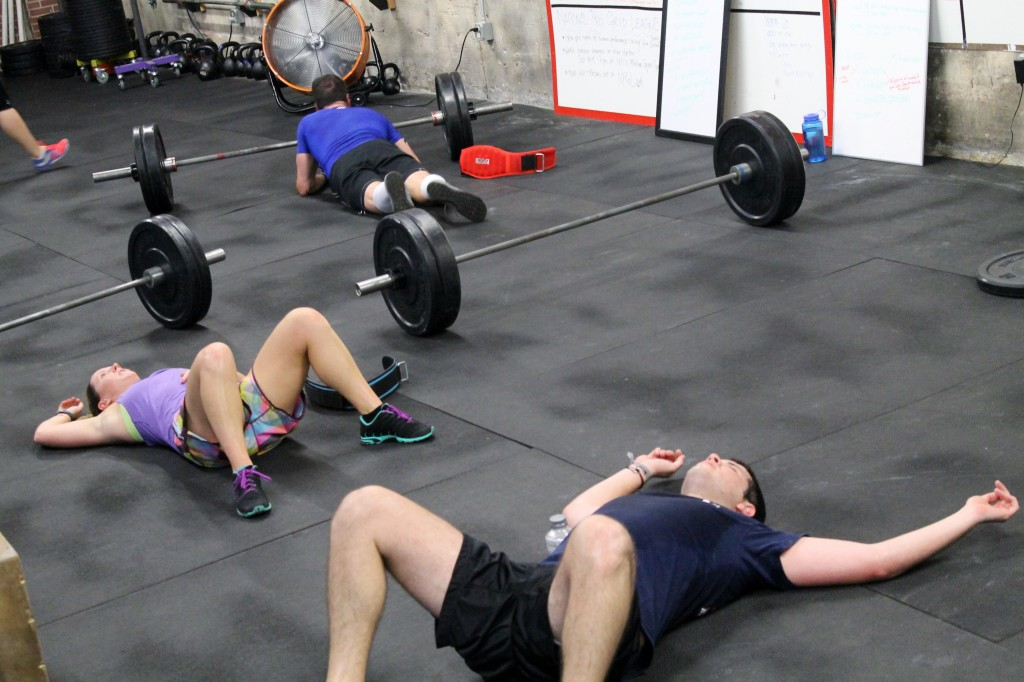 Sometimes the WOD looks easy on paper