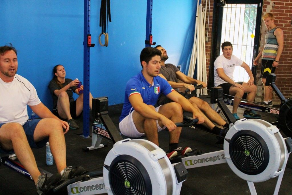 """""""I am the calm in the storm"""" Big Boat Race Saturday Team WOD"""