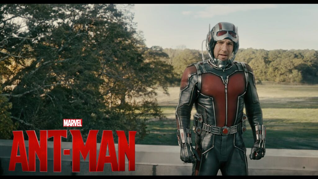 Paul Rudd as the ANT-MAN. We train hard to be fit and healthy and so did Paul doing CrossFit style workouts for a full year to prepare for his superhero role.