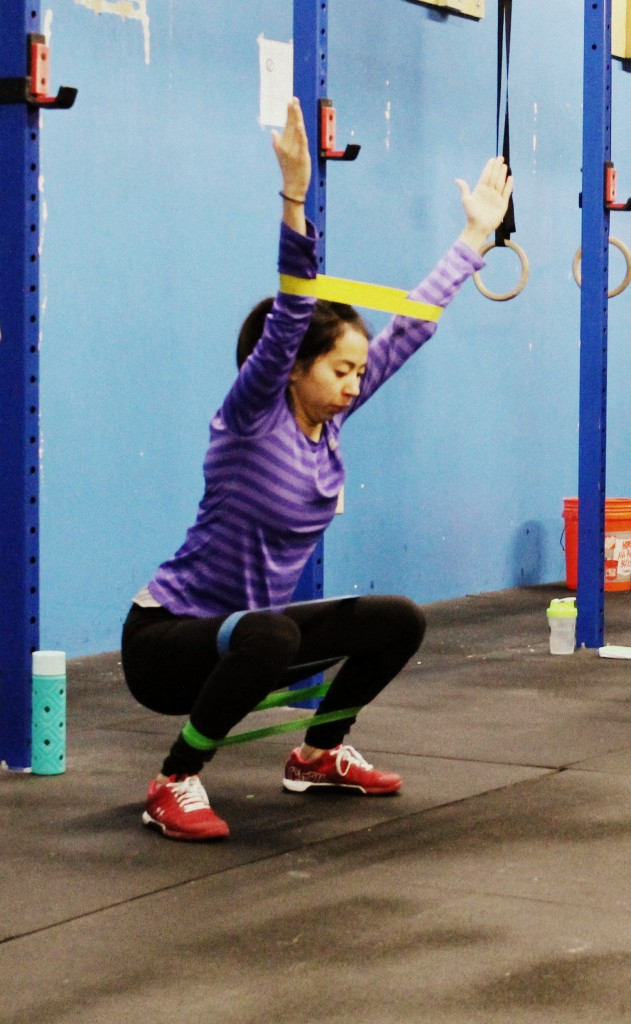 1-arm kettlebell overhead squat | CrossFit Midtown