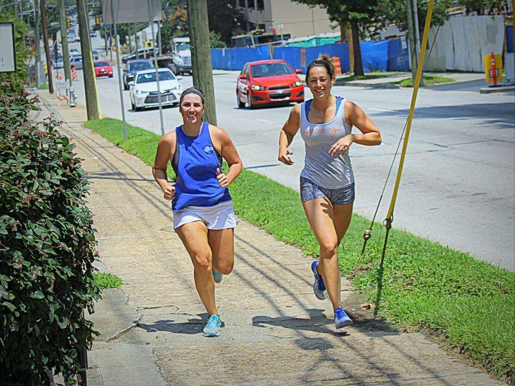 Kristi and Lauren