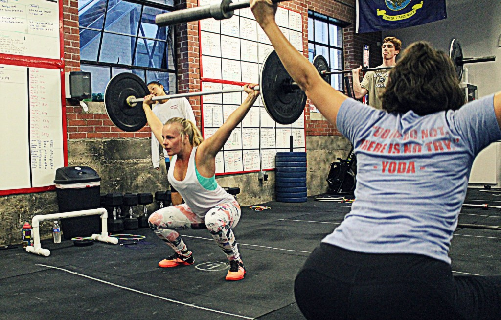 Overhead squat you must!
