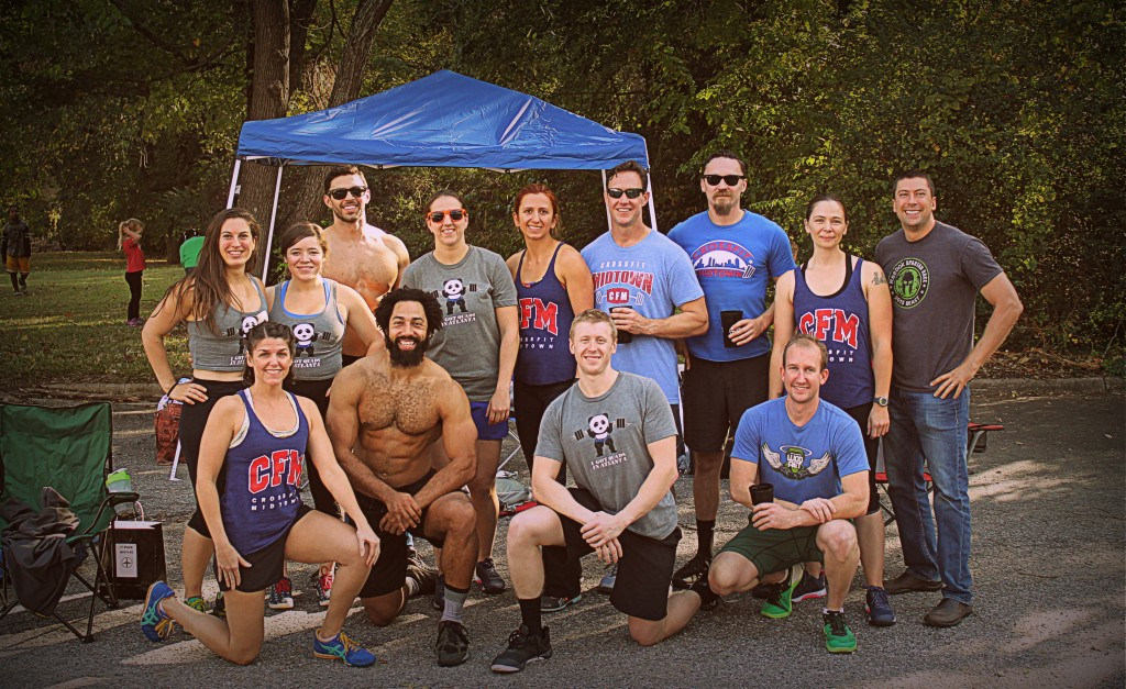 CFM Partner Teams from Graveyard Games Team Competition.  Podium spots for CFM for 1st place Men's Rx, 2nd place Men's Scaled, 2nd place Women's Scaled, and 3rd Place Women's Novice division!!