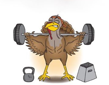 Happy Turkey Day! Feed your #gains!